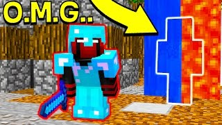 I CANT BELIEVE HE DIDN'T SEE ME... (Minecraft Trolling)