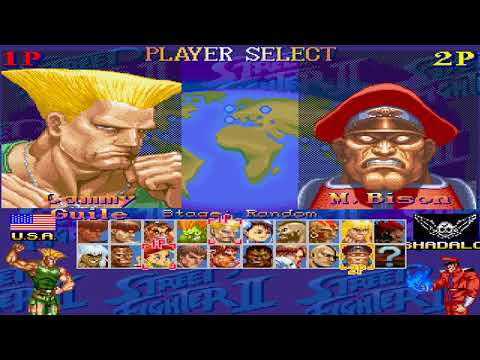 Download Super Street Fighter Ultimate M U G E N Ryu Playthrough
