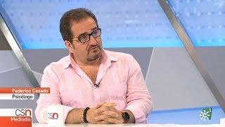 Federico Casado Reina como Psicólogo en Canal Sur Noticias - 28/06/2018