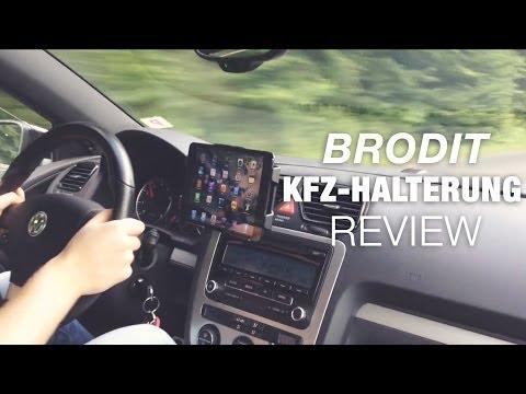 Brodit iPad mini KFZ-Halterung: Test / Review (Deutsch)