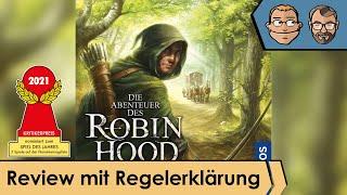Die Abenteuer des Robin Hood - (nominiert zum Spiel des Jahres 2021) – Review und Regelerklärung