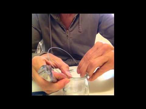 Windlichter aus Joghurtgläser zum Aufhängen - DIY -