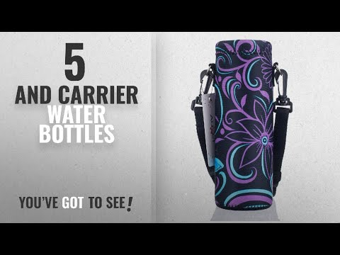Best And Carrier Water Bottles [2018]: AUPET Water Bottle Carrier,Insulated Neoprene Water bottle