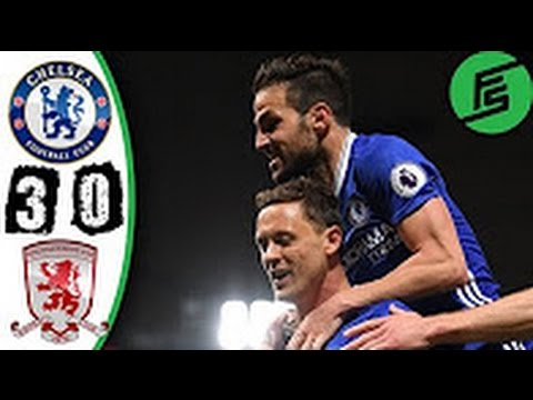 chelsea vs middlesbrough highlights youtube