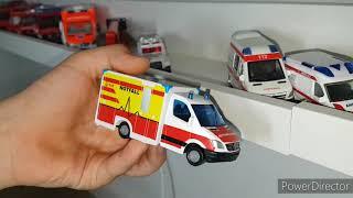 Siku Feuerwehr Sammlung  #Siku #Feuerwehr #Modellauto #Polizei #Krankenwagen #Spielzeug #Sammlung