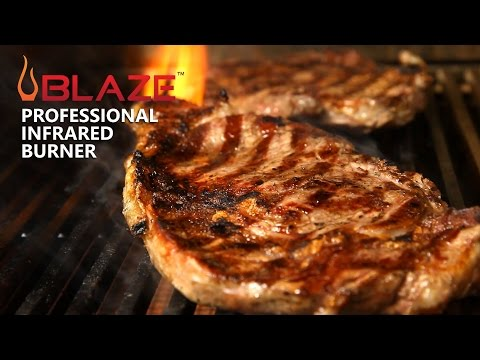 How to Replace Your Blaze Professional Conventional Burner With an Infrared Burner