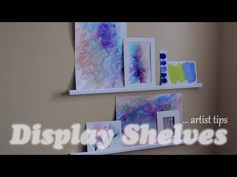 Art Studio Tip [ Display Shelves ]