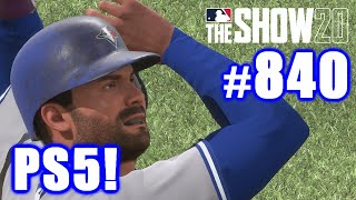 FIRST GAME ON THE PS5! | MLB The Show 20 | Road to the Show #840