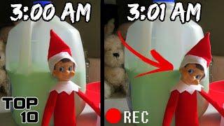 Top 10 Scary Elf On A Shelf Urban Legends