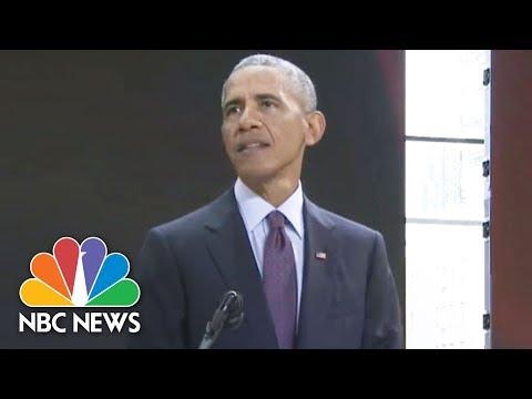 Barack Obama Calls GOP's Relentless Obamacare Repeal Efforts 'Aggravating'   NBC News