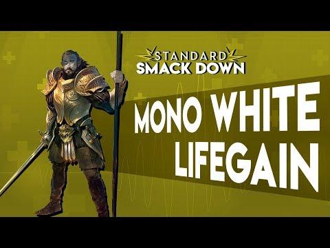 MTG Arena - Mono White Aggro, Ajani's Pridemate Life Gain, Casual