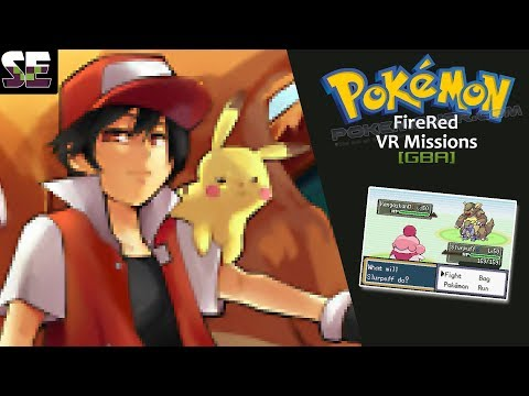 [GBA] Pokemon FireRed VR Missions - Battle Sims on GBA Rom │Pokemoner.com