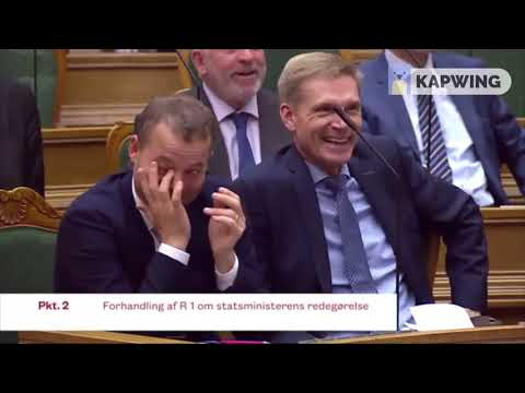Danish PM can't stop laughing about state purchase of elephants and a camel (English subtitles)