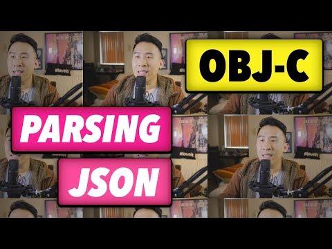 Obj-C Parsing JSON – Last Video on this Old Programming Language