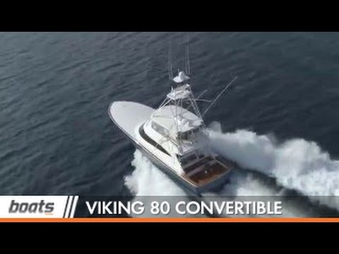 Viking 80 Convertible: Video Boat Review