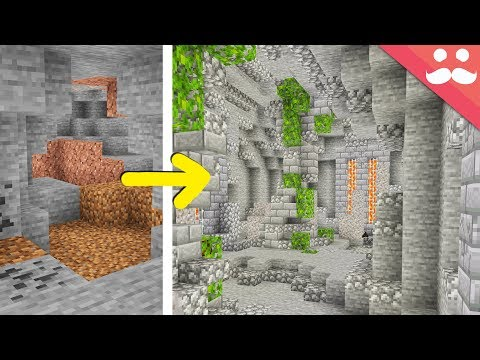 Making my own Cave Update in Minecraft
