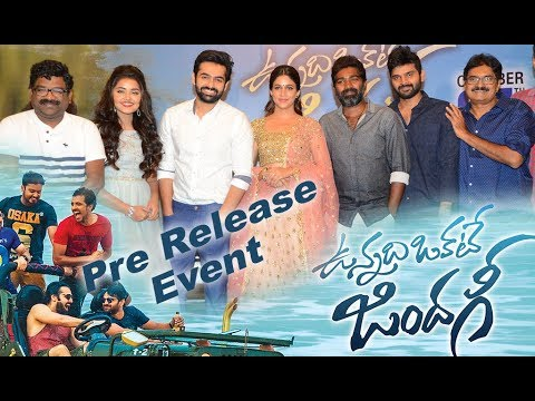 Vunnadi Okkate Zindagi Pre Release Event