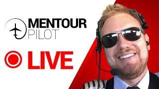 Mentour Answers YOUR Aviation Questions, LIVE!