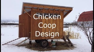 Our Mobile Chicken Coop Design