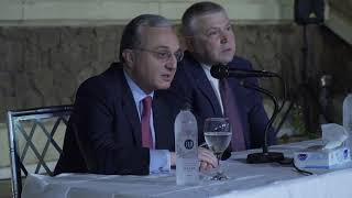 Meeting of Foreign Minister Zohrab Mnatsakanyan with the Armenian community of Egypt