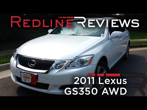 2011 Lexus GS350 AWD Car Review & Test Drive