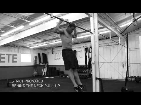 Strict Pronated Behind The Neck Pull-up