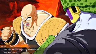 Dragon Ball FighterZ - Cell Roasting Nappa