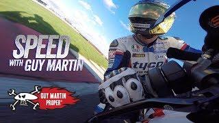 F1 CAR VS BIKE - Guy's FULL POV | Guy Martin Proper Exclusive