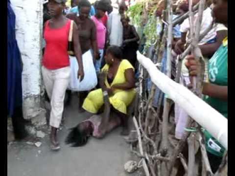 Vodou feast in Petite Riviere in Leogane, Haiti
