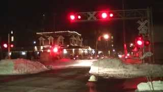 preview picture of video 'Railfanning Mineola, Long Island 1/30/2015 (Part 2)'