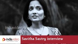 Bharatanatyam Dancer Savitha Sastry Interviewed by Dr. Meena T Pillai
