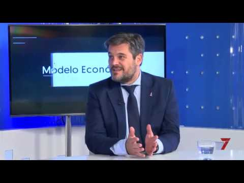 Luis Pérez,Director del PCT entrevistado en «Siete Economía»