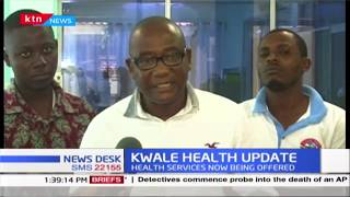 Msambweni referral hospital resumes services as official warn of possible congestion