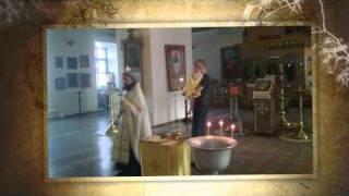 Крещение Виталика фото.wmv