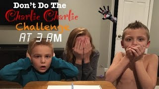 Do Not Play Charlie Charlie Challenge at 3AM