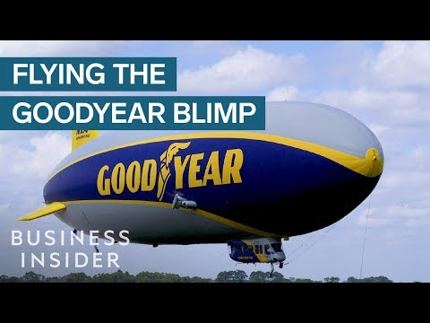 Flying the Goodyear Blimp is a Dream Come True
