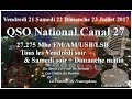 Vendredi 21 Juillet 2017 WebSDR QSO National du canal 27