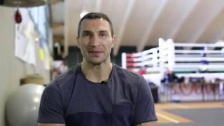 Обращение Владимира Кличко к фанам перед боем с Тайсоном Фьюри