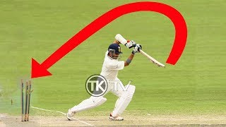 Funny unexpected incidents in cricket - Ball handling ,hitwickets and bails don't fall off incidents