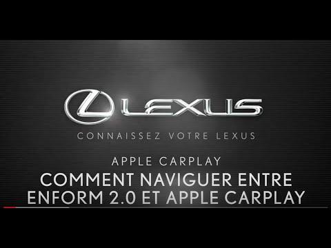 Comment naviguer entre Apple CarPlay et Enform 2.0