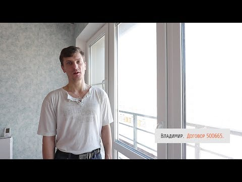 Отзыв о пластиковых окнах — Владимир