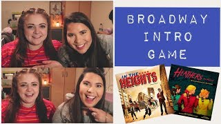 The Broadway Intro Game ft. Amy Lovatt
