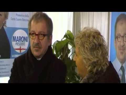 Roberto Maroni a Como