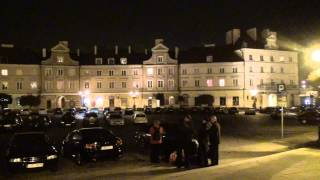preview picture of video 'Lublin castle square at night'