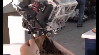 Машина разгладки шва с накладыванием тесьмы и автоматической обрезкой SAGITTA SCA 1.02
