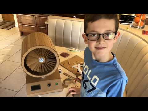Making A Cardboard Jet Engine