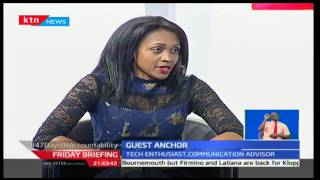Friday Briefing: Guest Anchor Joy Doreen Biira, KTN's Business Reporter with Betty Kyallo