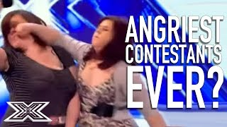 Angriest Contestants EVER? | X Factor Global - Video Youtube