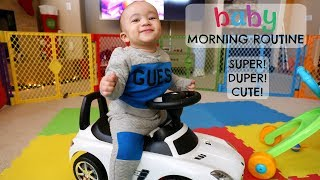BABY MORNING ROUTINE!!! *CUTEST VIDEO EVER* | Domo Wilson | Kholo.pk
