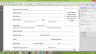 how to fill your jamb Registration form